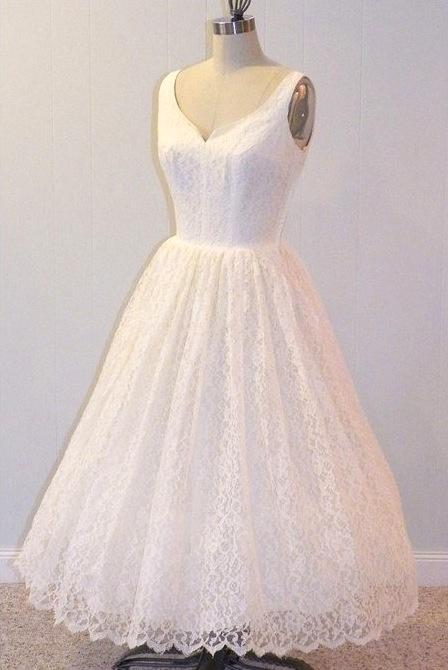 1950's Lace Bridal Gown