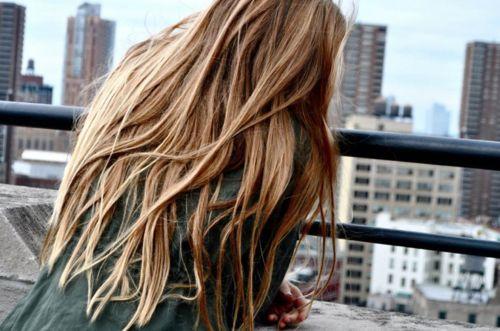 some hair