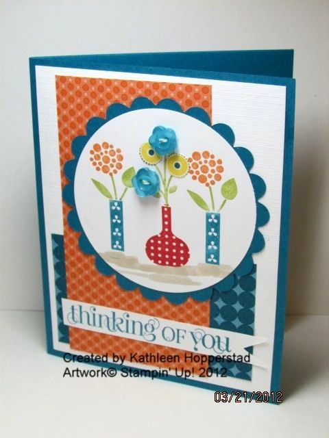 Stampin' Up! SU by Kathleen Hopperstad, My Happy Stampin' Place