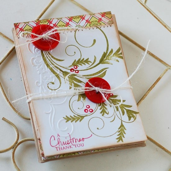 Christmas Thank You Handmade Card Bundle