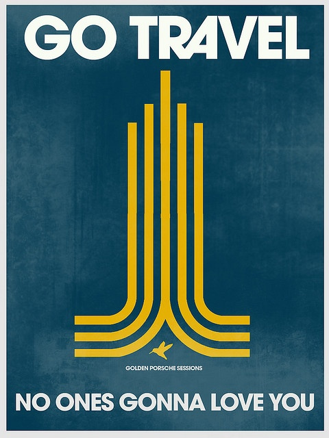 Go travel poster