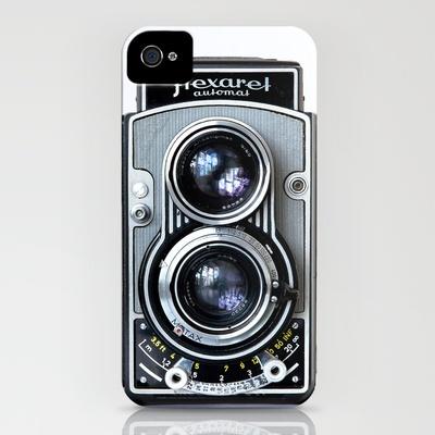 Fabulous retro camera iPhone case!