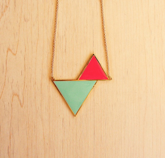 triangles necklace