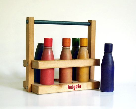 1950's wooden Holgate toy