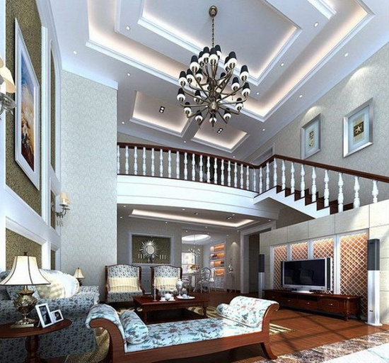 Inspirational Mixture Traditional and Modern Interior House Design
