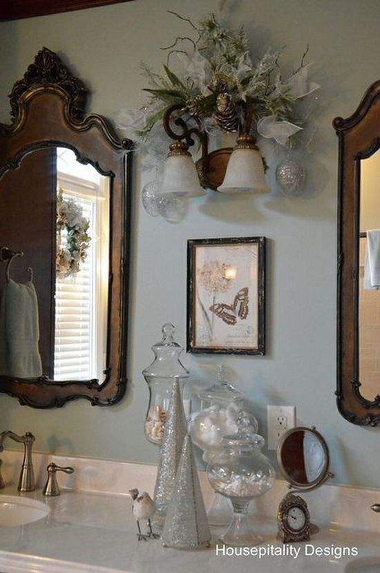 Cute Bathroom Decorating Ideas For Christmas 2014 .