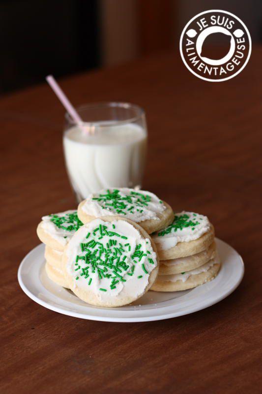 Soft Sugar Cookies- gluten free
