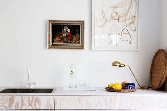 Art in the kitchen