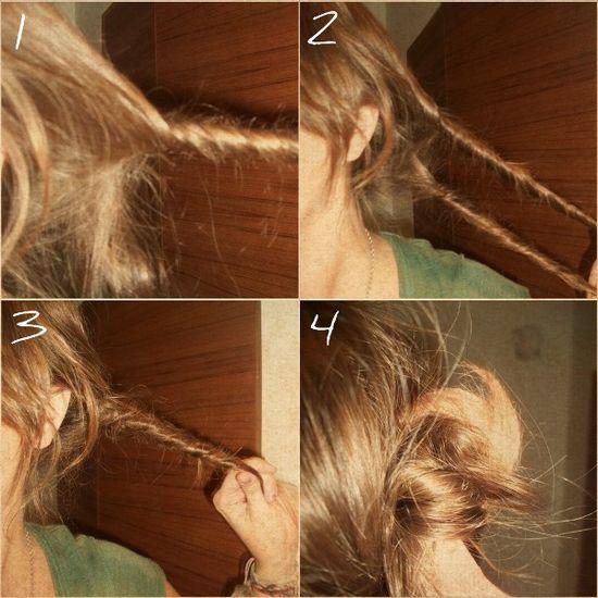 Boho hair tip!