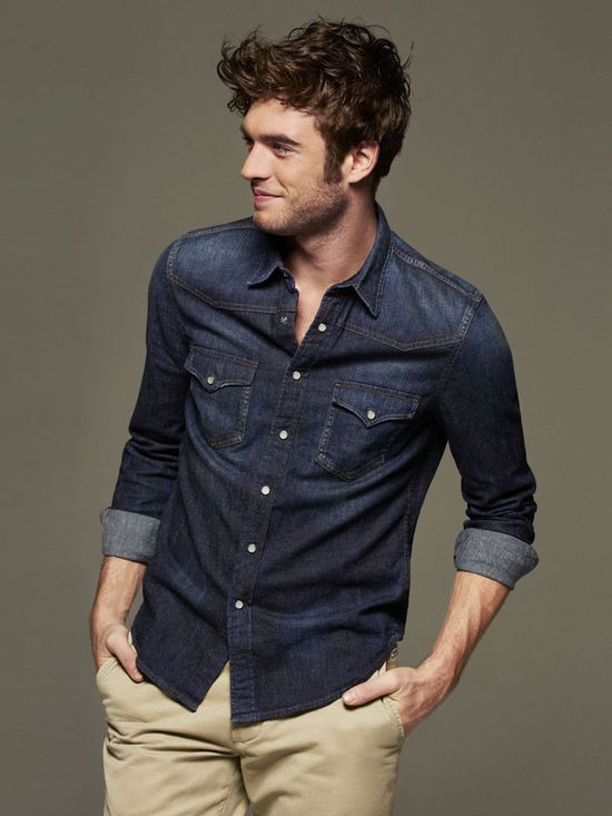 Every man on the planet should own a chambray shirt.