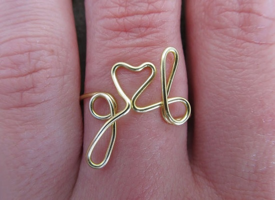 Personalized love ring