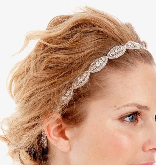 wedding headband by untamedpetals on etsy