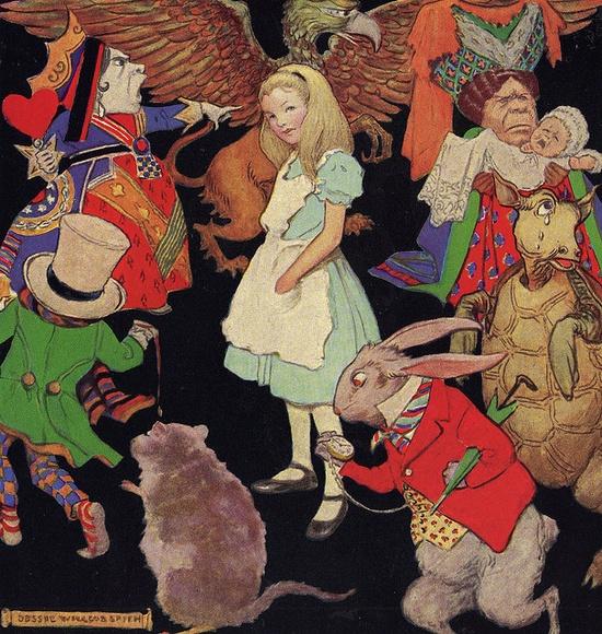 Alice In Wonderland by Jessie Willcox Smith
