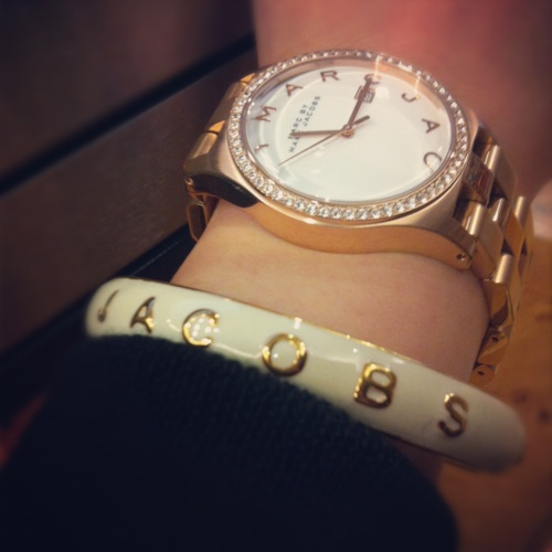 Marc by Marc Jacobs Braclet & Watch