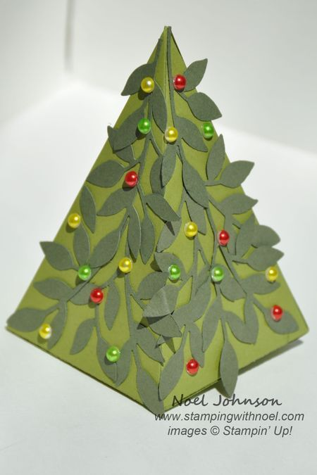 petal cone die christmas tree treat holder
