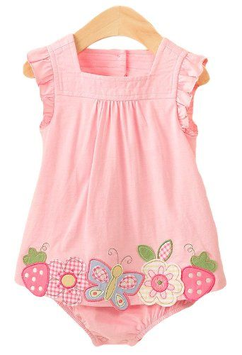 First Impressions Baby Girls Summer Sun Dress, « Dress Adds Everyday