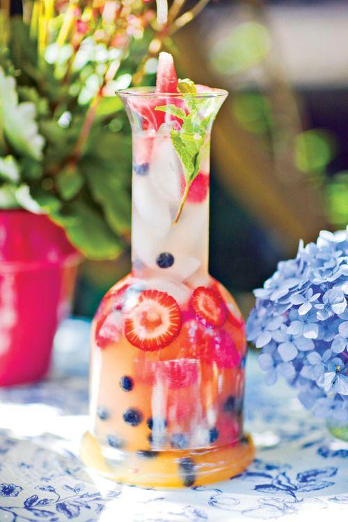 Red White and Blue Lemonade