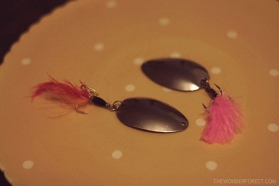 """""""A DIY project to 'tackle'! Handmade fishing lures from spoons!"""""""
