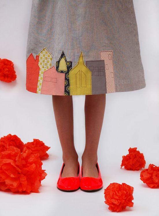 love this embellished skirt oliver+s