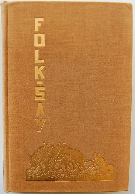 Book Cover of Folk-Say by Crossett Library Bennington College, via Flickr