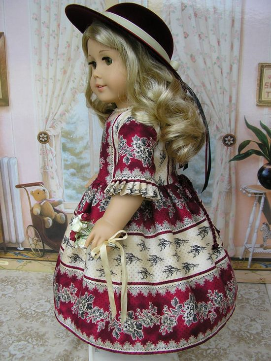 American Girl doll clothes  mid1800s or present day by dolltimes, $162.00