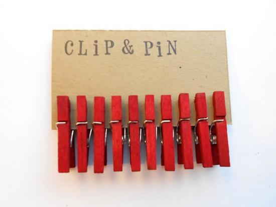 Red & Handmade. #handmade #crafts