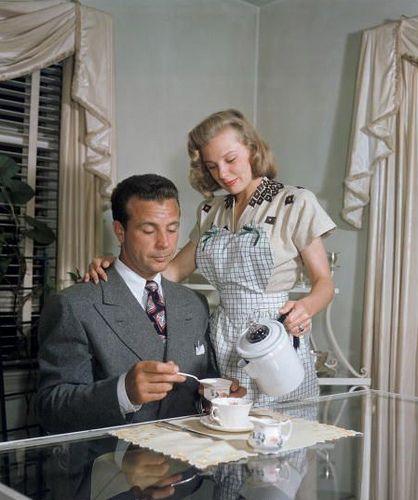 June Allyson & Dick Powell