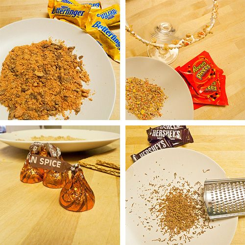 leftover candy drink ideas