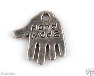 20 handmade charms