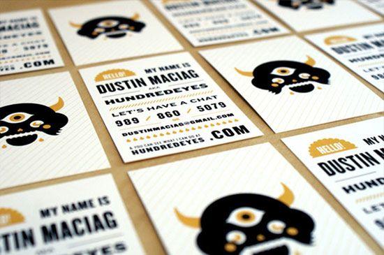 Graphic Designer Business Cards