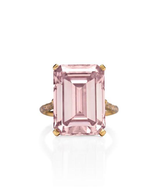 Van Cleef & Arpels #pink #diamond #engagement #ring