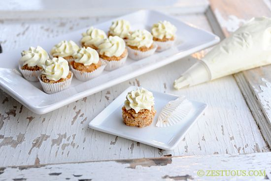 Mac And Cheese Cupcakes with Savory Cream Cheese Frosting