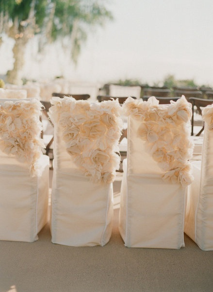Love these chair covers. Love!