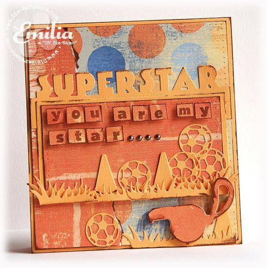 Superstar {Die-Versions} - Scrapbook.com