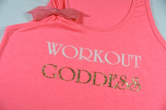 Workout Goddess - Workout Exercise Fitness Tank Top Shirt