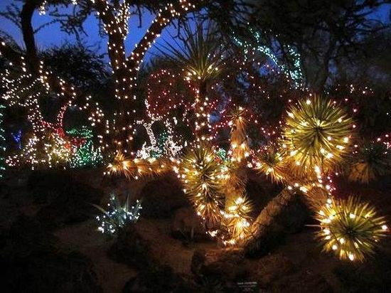 2013 Christmas Garden Decorations Ideas Pictures