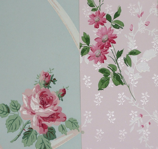 beautiful vintage wallpaper