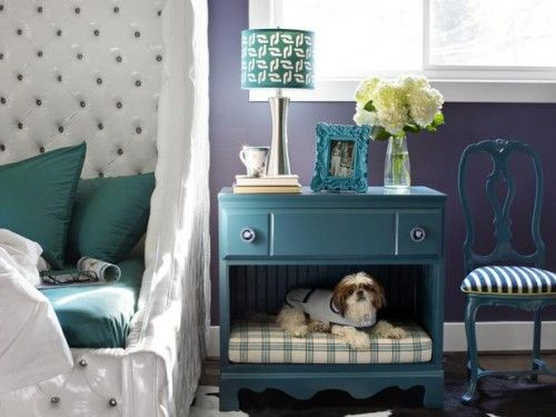 Can double as a crate if you create sliding doors on the inside that meet in the middle!