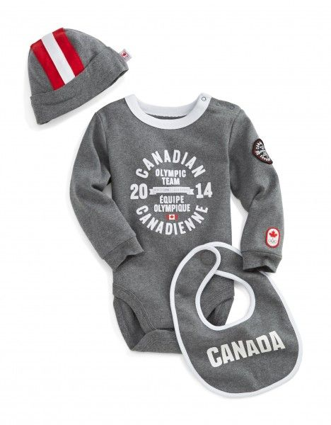 Canadian Olympic and Paralympic team collection for Sochi 2014 - baby outfit