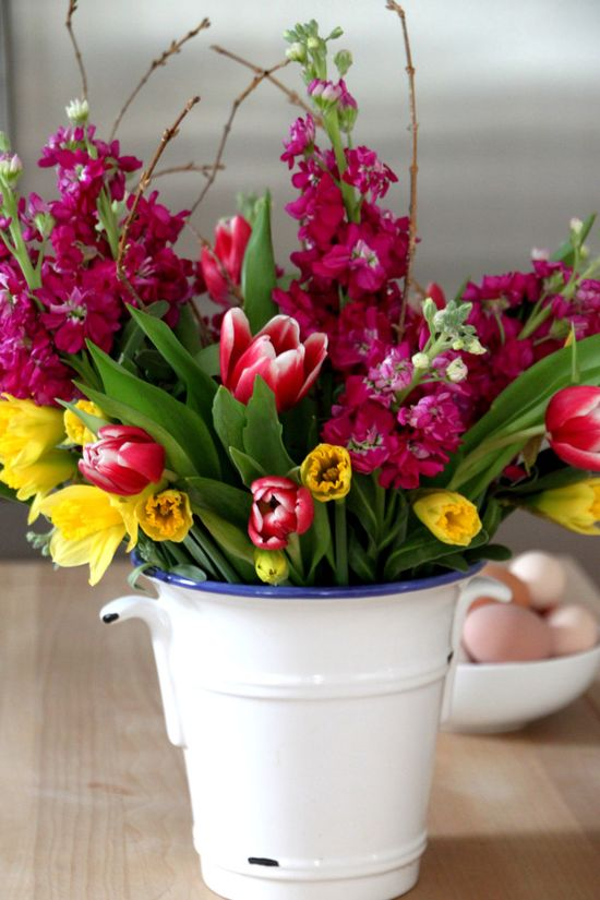 Create beautiful arrangements from grocery store flowers --> www.hgtvgardens.c...