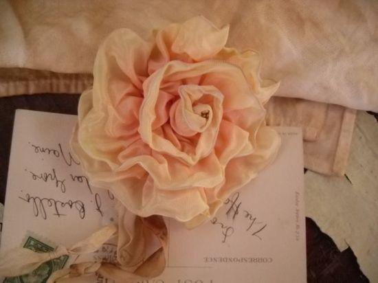 Love this handmade rose