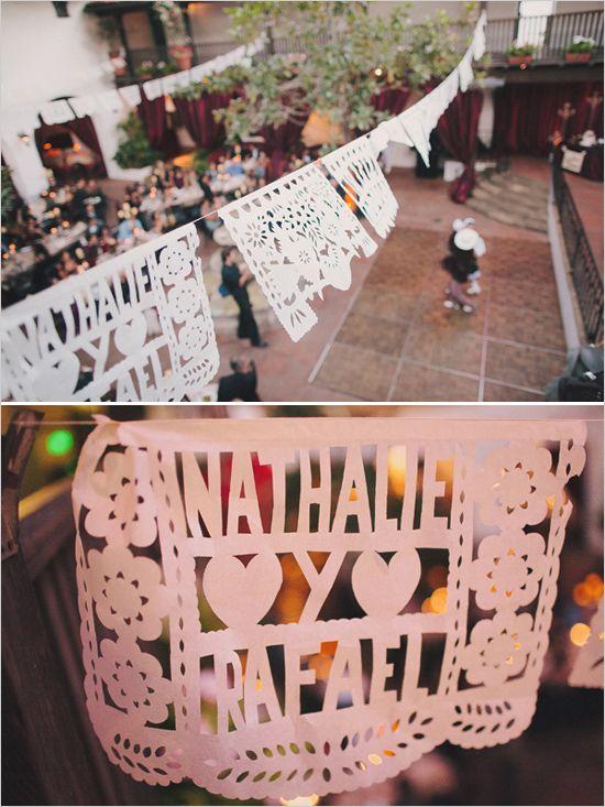custom paper cut banners