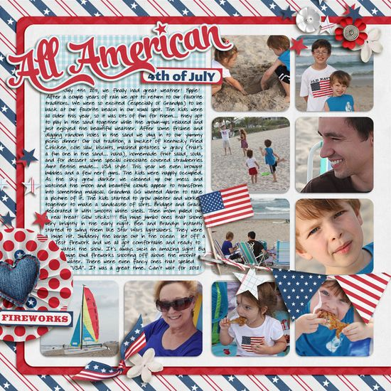4th of July Layout by YepBrook