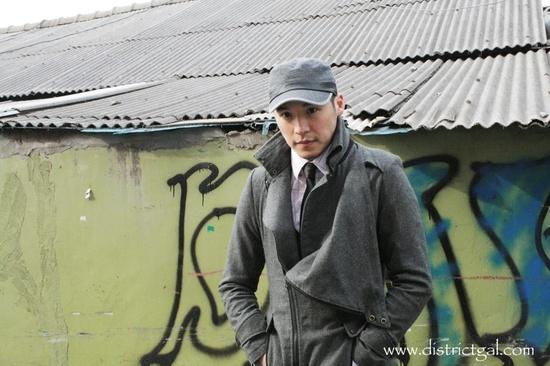StreetFashion: Featuring Wilfred Lee, artist on www.districtgal.com #fashion