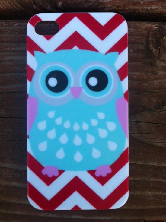 Chevron, Owl & Anchor iPhone 4/4s Hard Cases! - 6 Cute Choices at VeryJane.com
