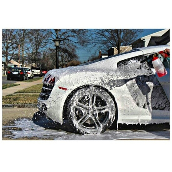 Can you tell what Stunning Car is having bath time in this Pic???