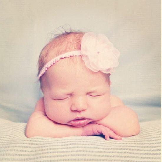 Baby Willow in Summerblossom! #summerblossom #handmade #headband (thanks Modern Memories Photography)