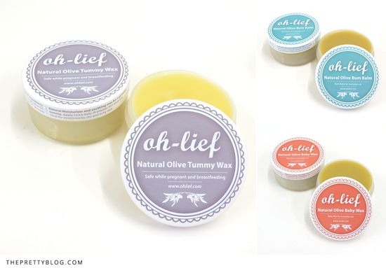 Natural olive baby products by Oh-Lief