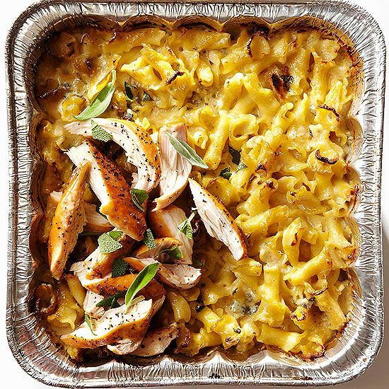 Put a twist on a traditional dish with this Smoked Macaroni and Cheese. More grilled chicken recipes: www.bhg.com/...