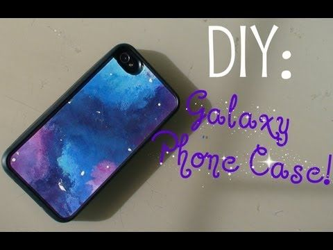 DIY: Galaxy Phone Case!